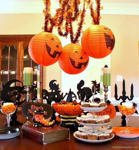 Fiesta halloween ideas geniales para decorar tu fiesta de for Decoracion mesa halloween